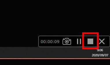 ライブ録画方法